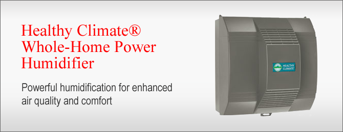 Healthy Climate Whole Home Power Humidifier