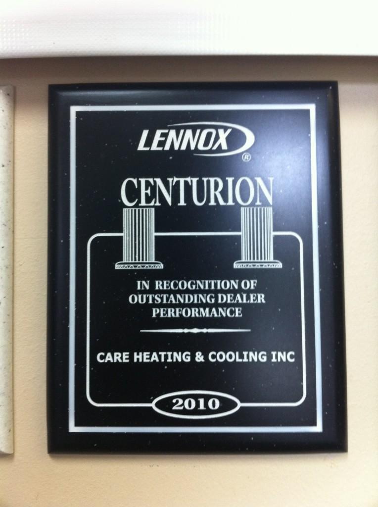 Lennox Centurion Award